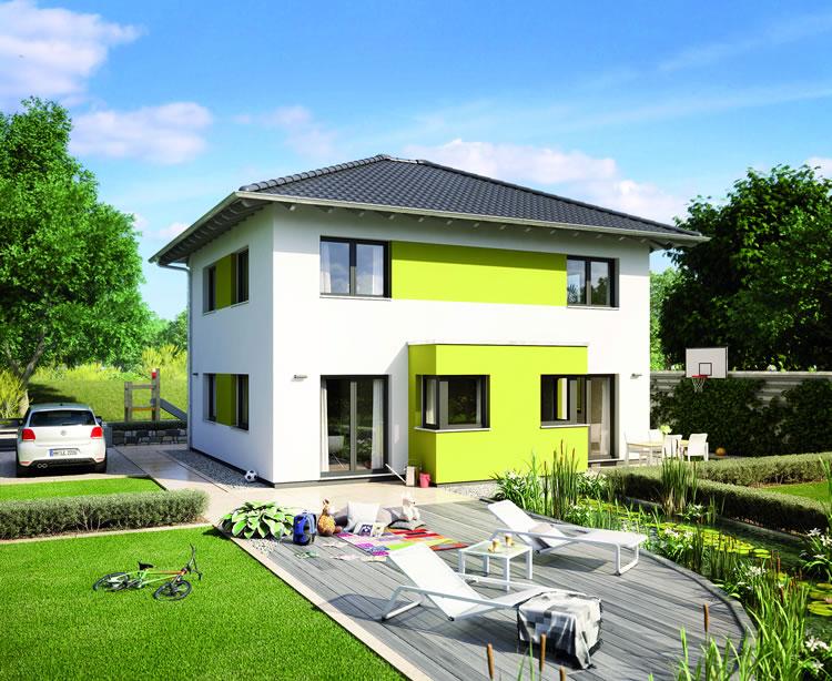 Musterhaus Wohnbeispiele Grundrisse Aller Haustypen Hausbau