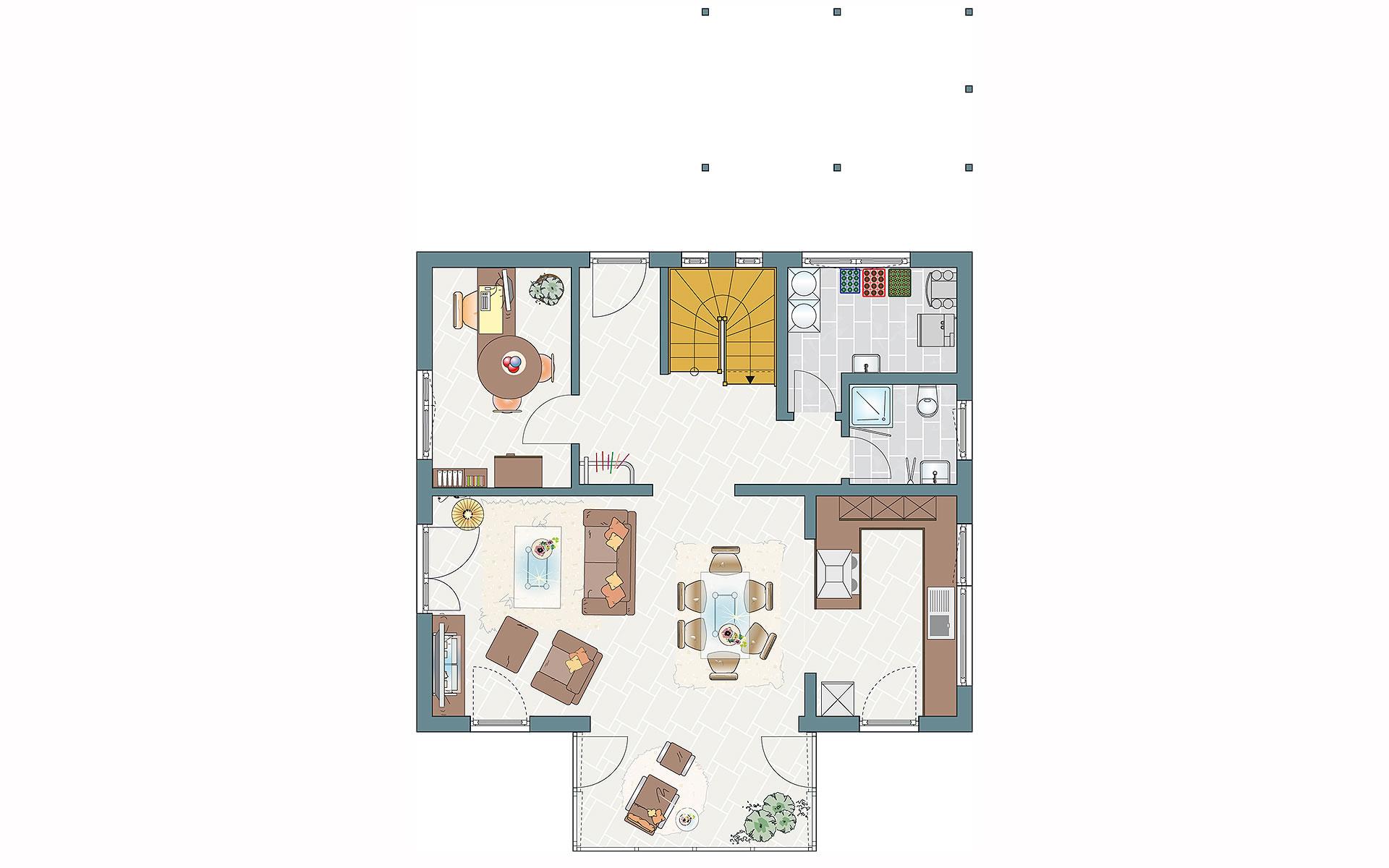 Erdgeschoss MEDLEY 3.0 - MH Erfurt von FingerHaus GmbH