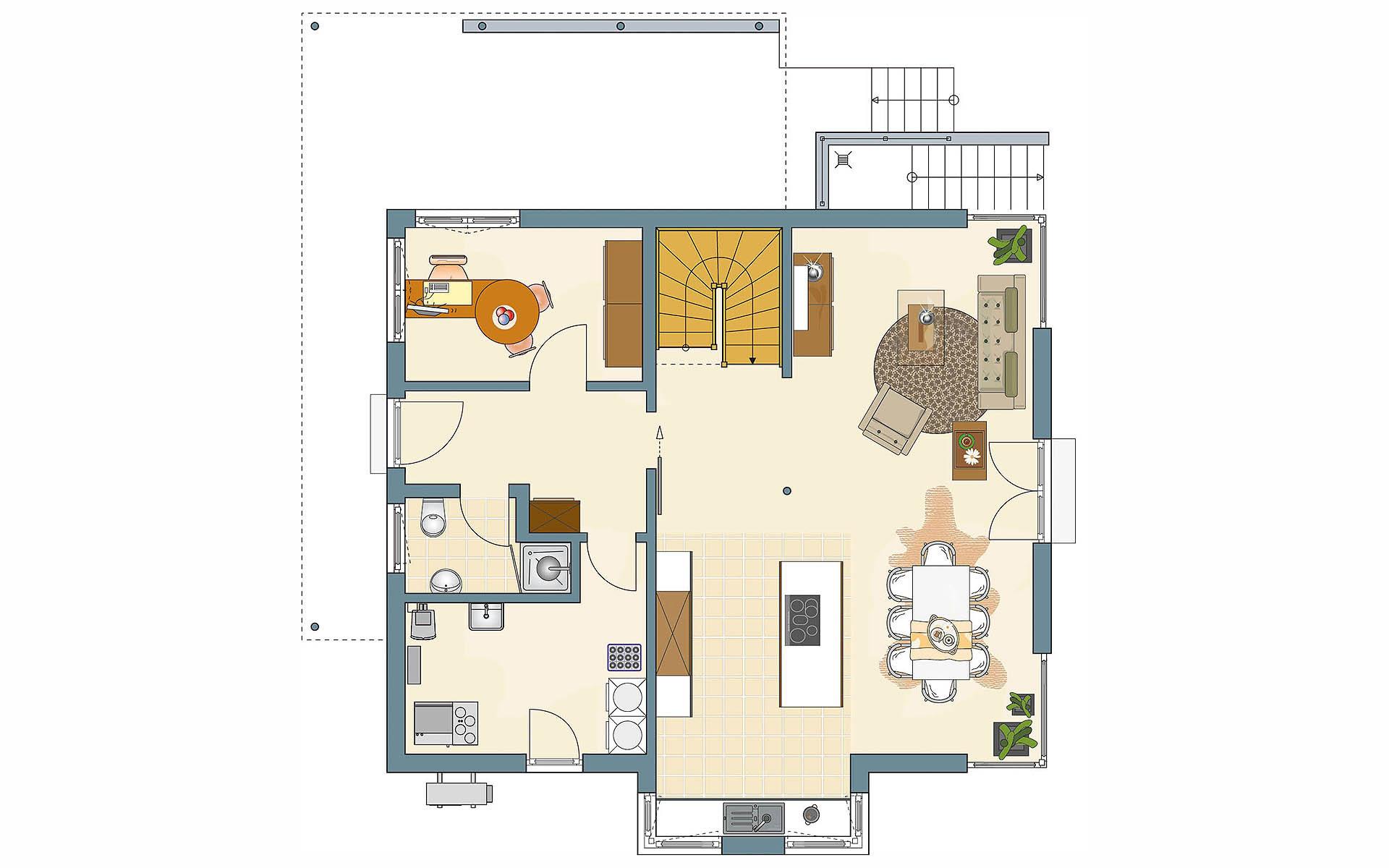 Erdgeschoss MEDLEY 3.0 - MH Berlin-Werder von FingerHaus GmbH