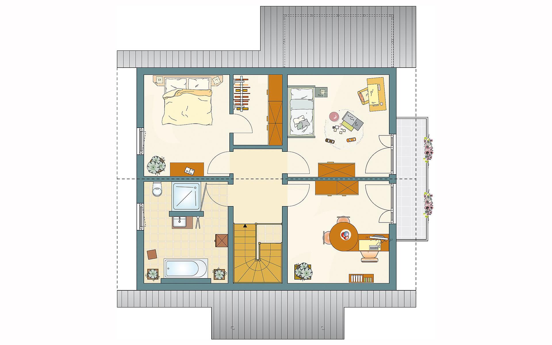 Dachgeschoss MEDLEY 3.0 - MH Mühlheim-Kärlich von FingerHaus GmbH