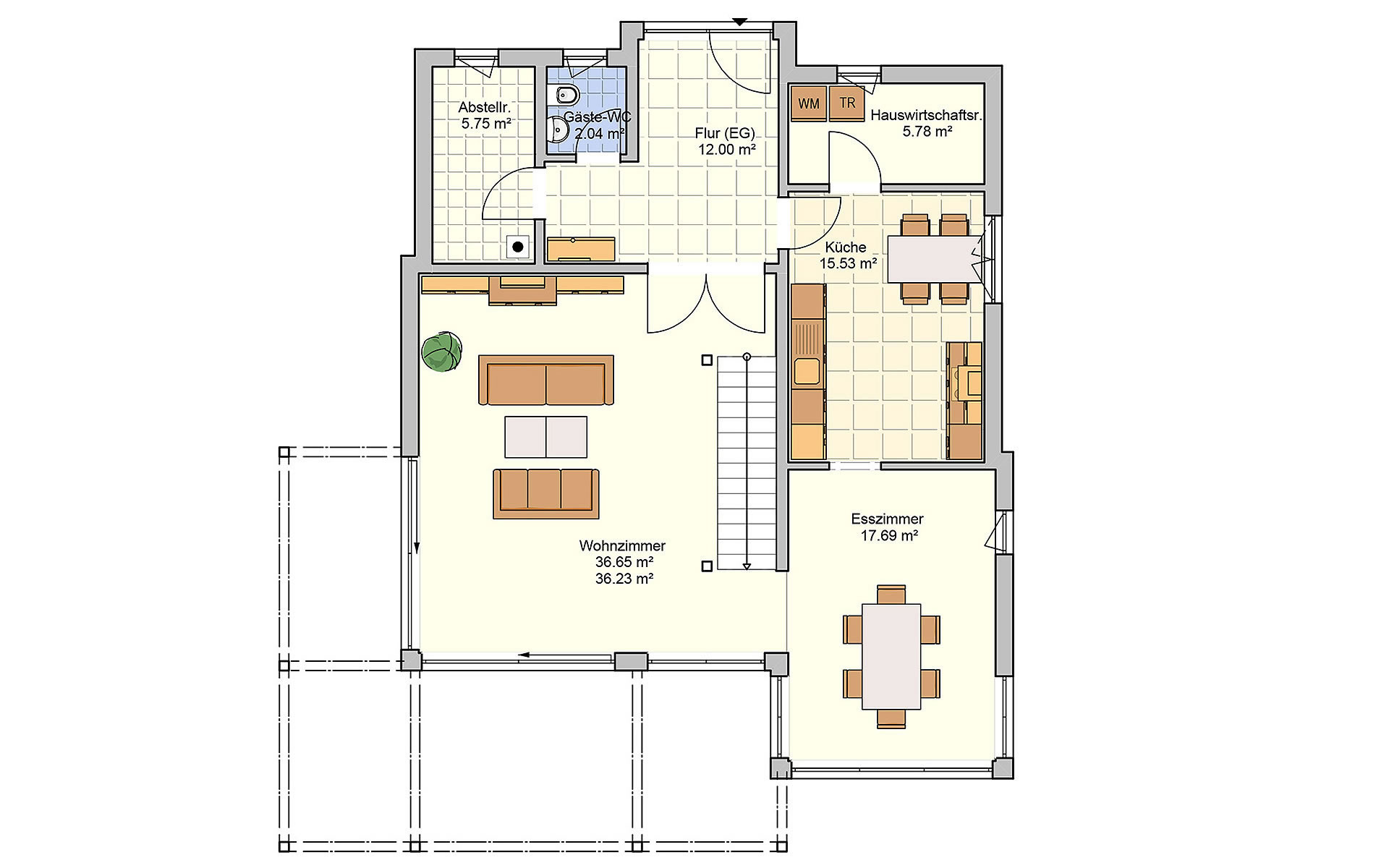 Erdgeschoss Bela von Fingerhut Haus GmbH & Co. KG