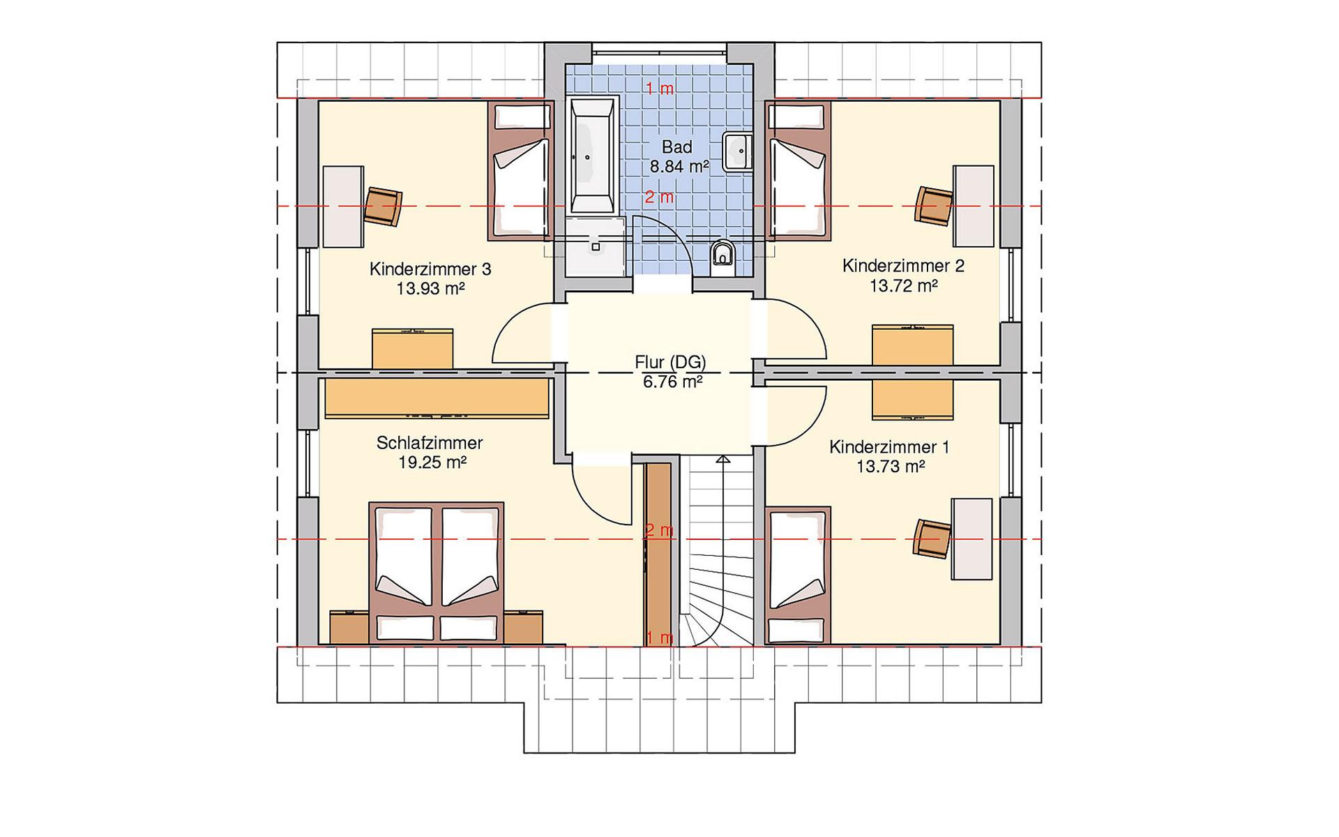 Dachgeschoss München von Fingerhut Haus GmbH & Co. KG