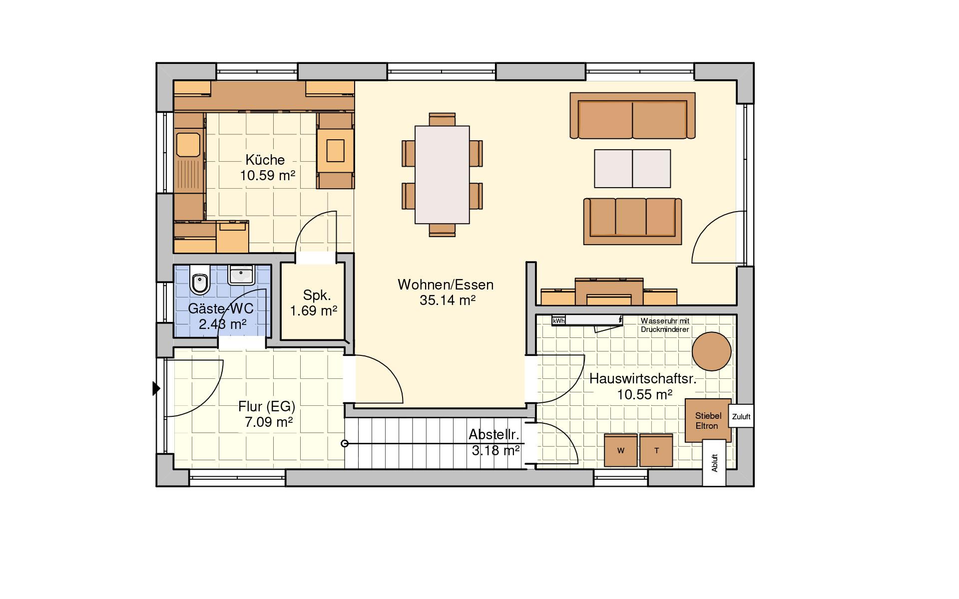 Erdgeschoss Dublin von Fingerhut Haus GmbH & Co. KG