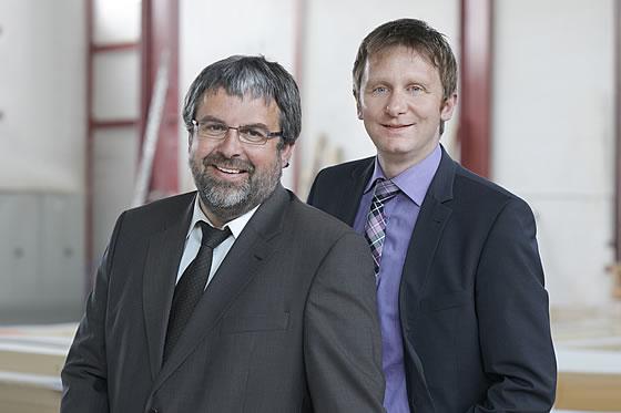 Die Geschäftsführer der Fingerhut Haus GmbH & Co. KG, v.l.n.r.: Thomas Wallmeroth und Holger Linke (Vorsitzender) - Foto: Fingerhut Haus