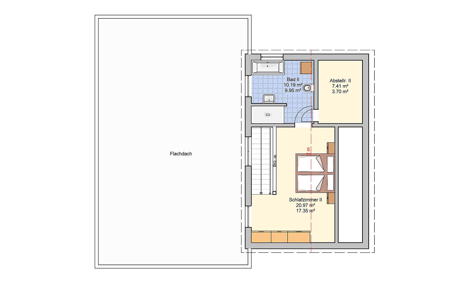 Dachgeschoss Junto 168 von Fingerhut Haus GmbH & Co. KG