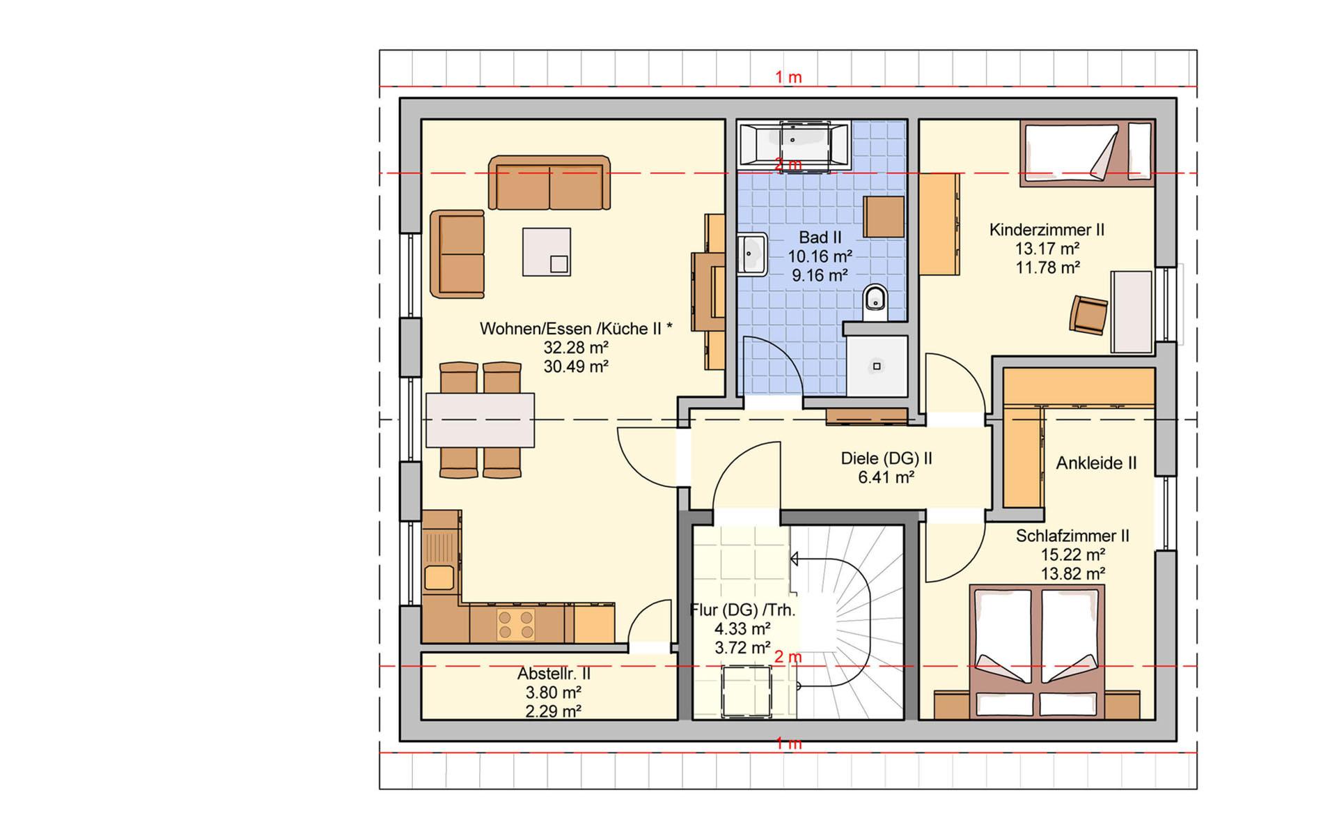 Dachgeschoss Junto 175 von Fingerhut Haus GmbH & Co. KG