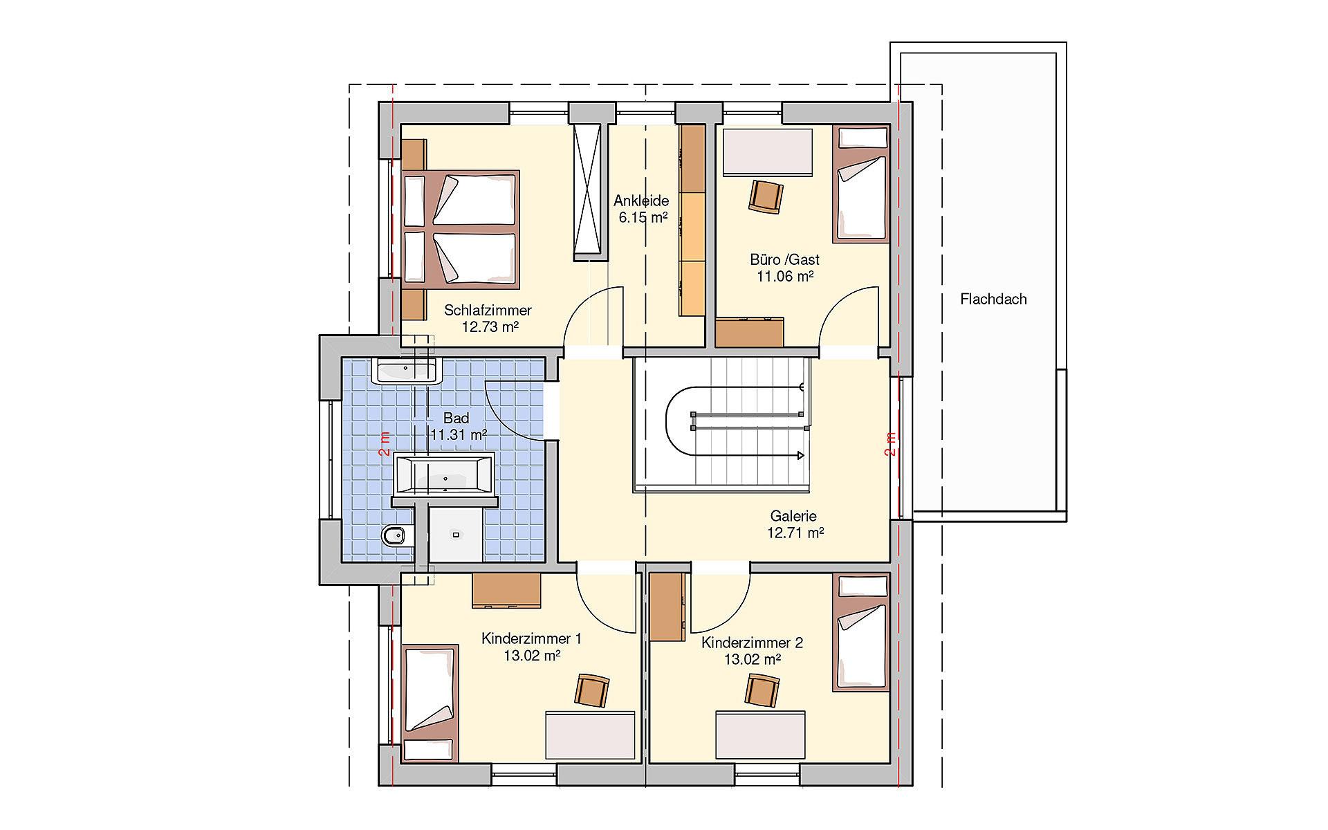 Dachgeschoss Günzburg (Musterhaus) von Fingerhut Haus GmbH & Co. KG