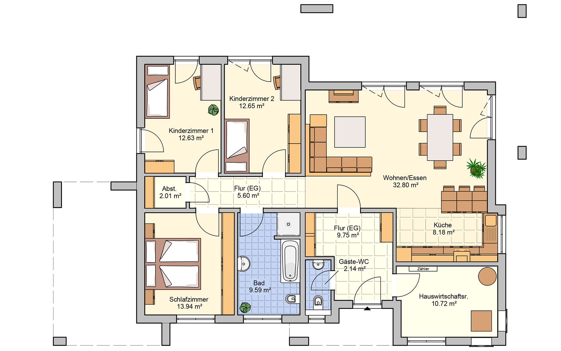 Erdgeschoss Karismo von Fingerhut Haus GmbH & Co. KG