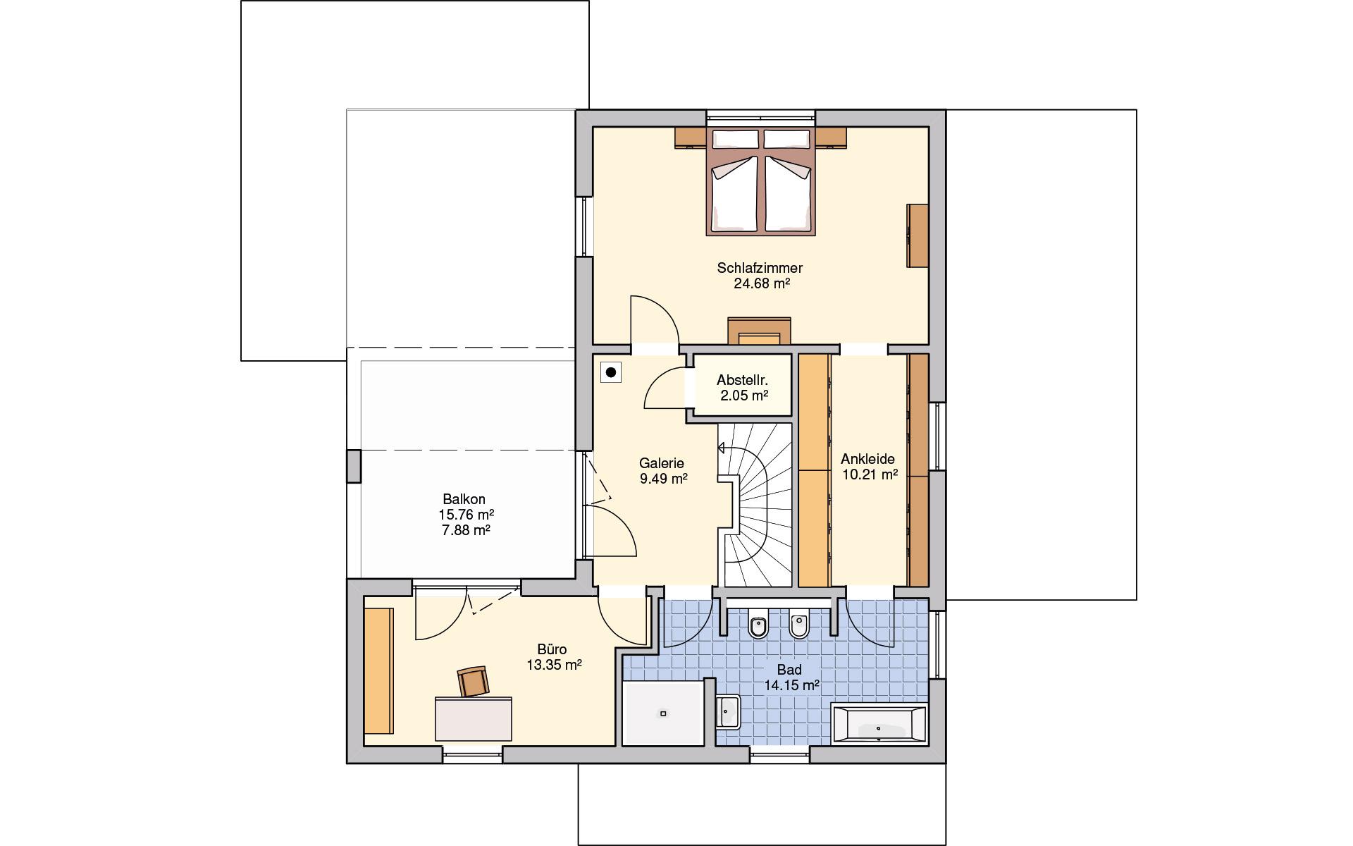 Obergeschoss Lageto von Fingerhut Haus GmbH & Co. KG