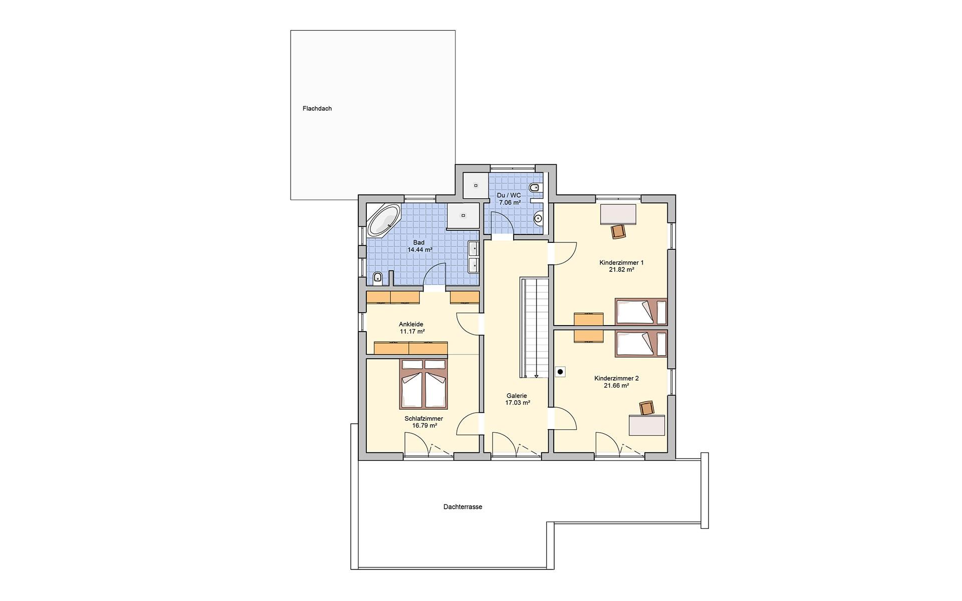 Obergeschoss Matene von Fingerhut Haus GmbH & Co. KG