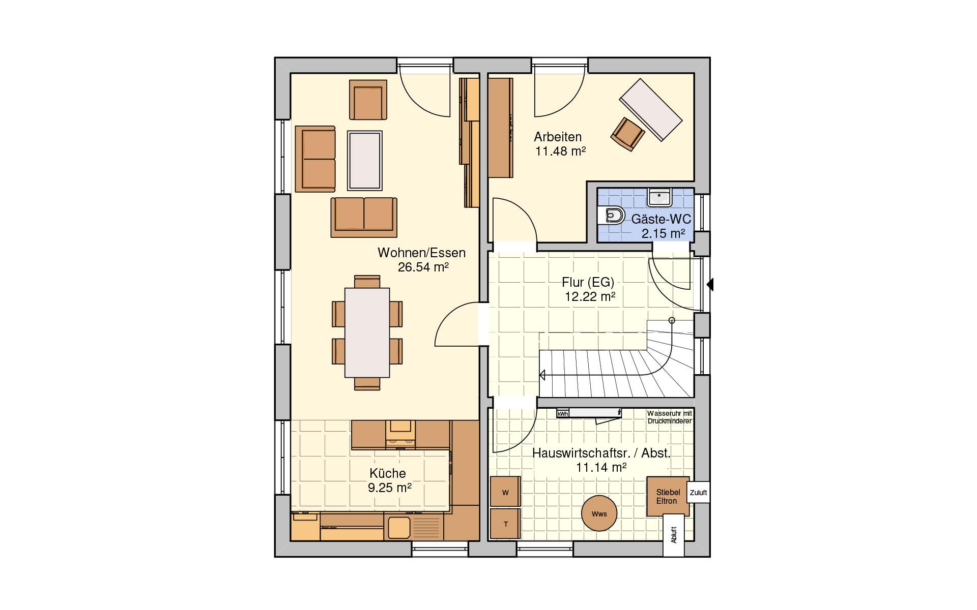 Erdgeschoss Oslo von Fingerhut Haus GmbH & Co. KG