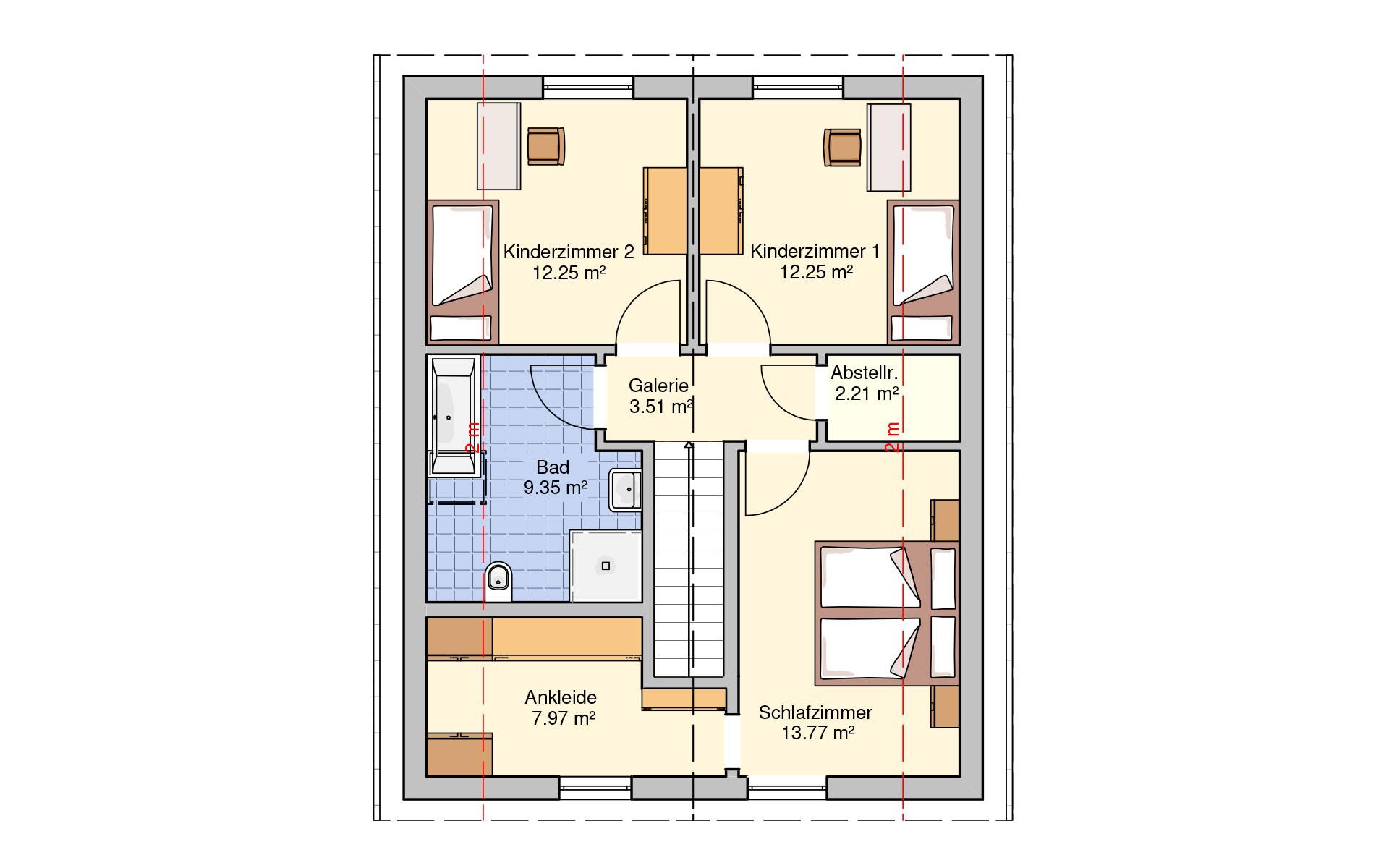 Dachgeschoss Paris von Fingerhut Haus GmbH & Co. KG