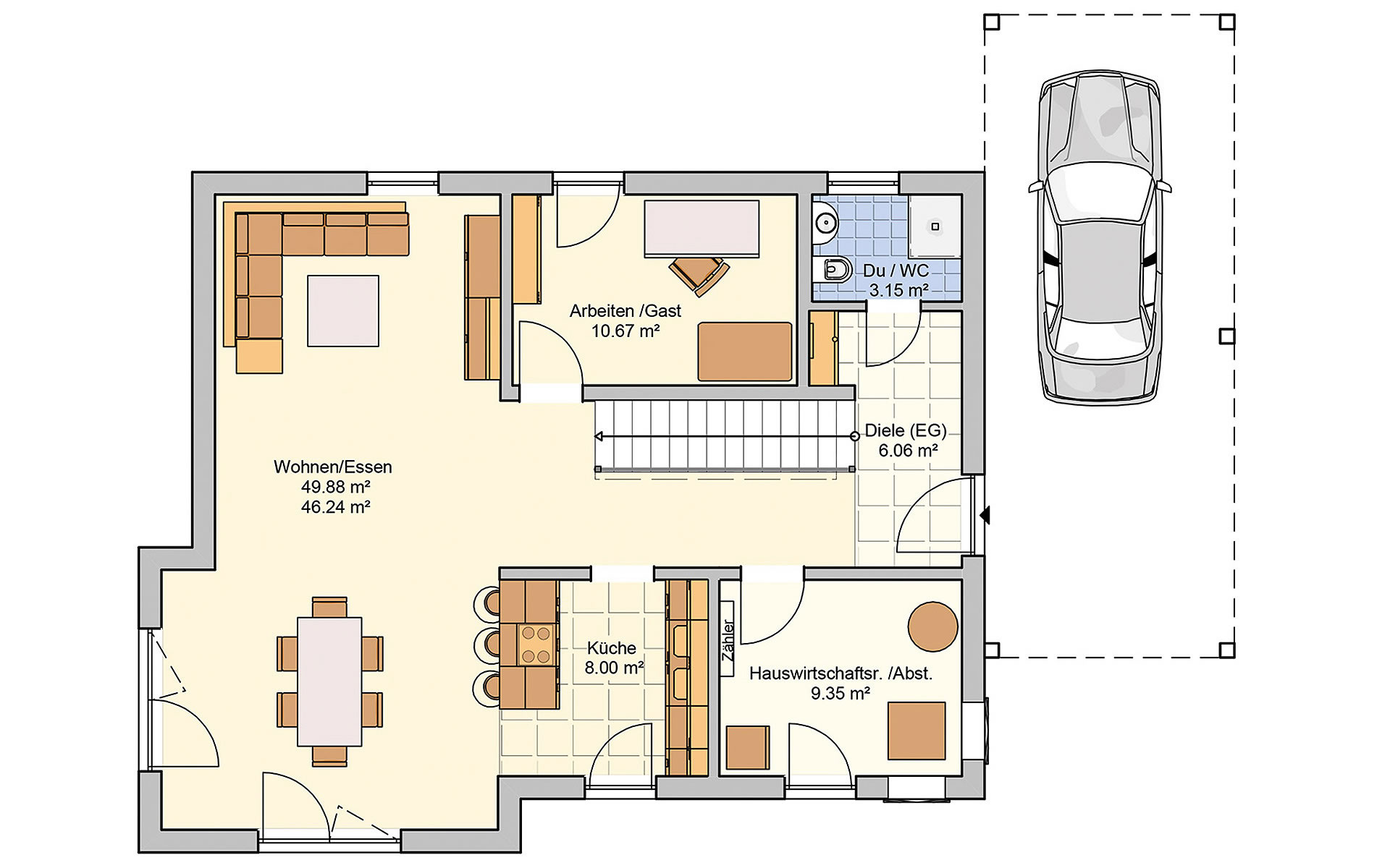 Erdgeschoss Balance von Fingerhut Haus GmbH & Co. KG