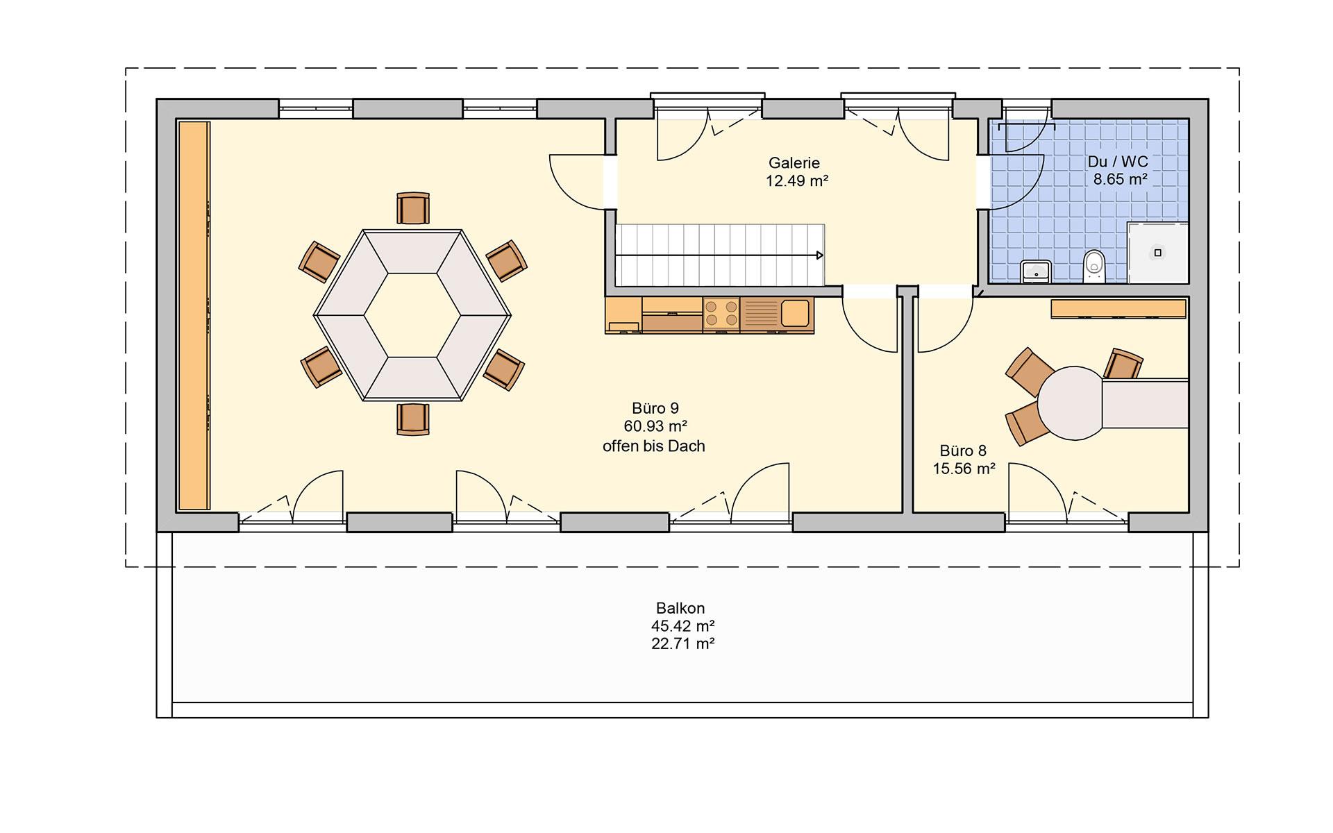 Dachgeschoss Tasko von Fingerhut Haus GmbH & Co. KG