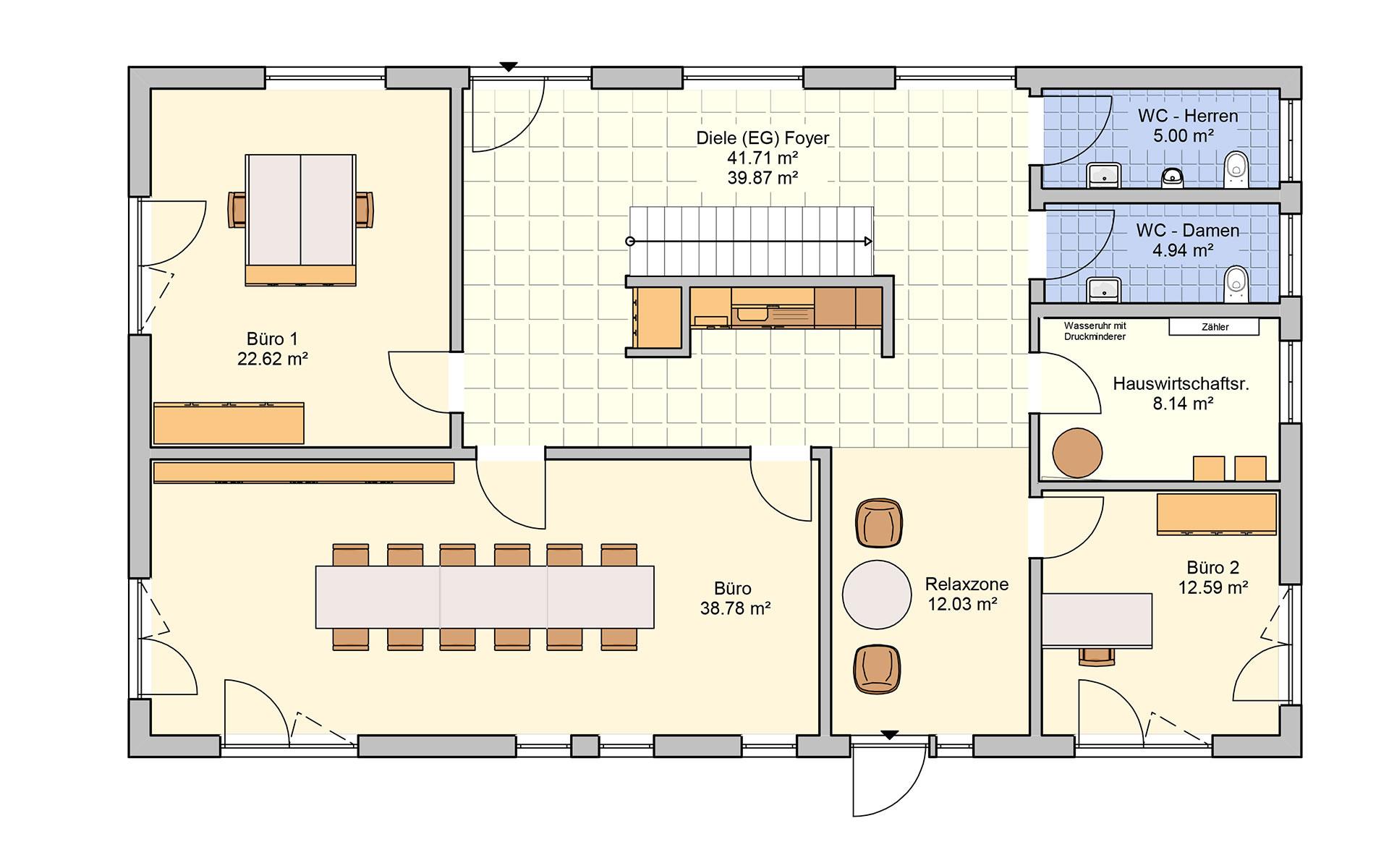 Erdgeschoss Tasko von Fingerhut Haus GmbH & Co. KG