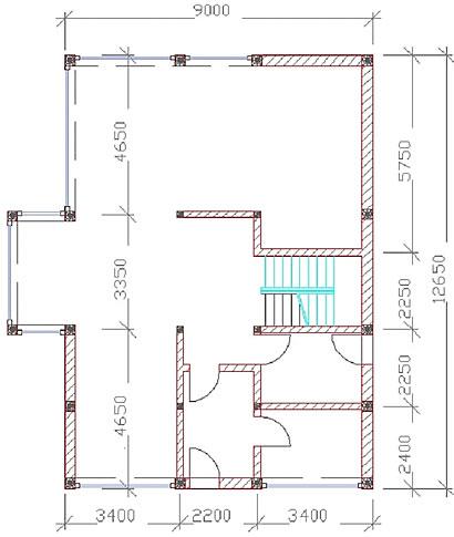 Erdgeschoss Frei-Raum-Haus 12x9-F von Frei-Raum-Haus - Dipl.-Ing. Schminder