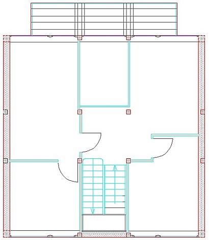 Dachgeschoss Frei-Raum-Haus 9x9-F von Frei-Raum-Haus - Dipl.-Ing. Schminder