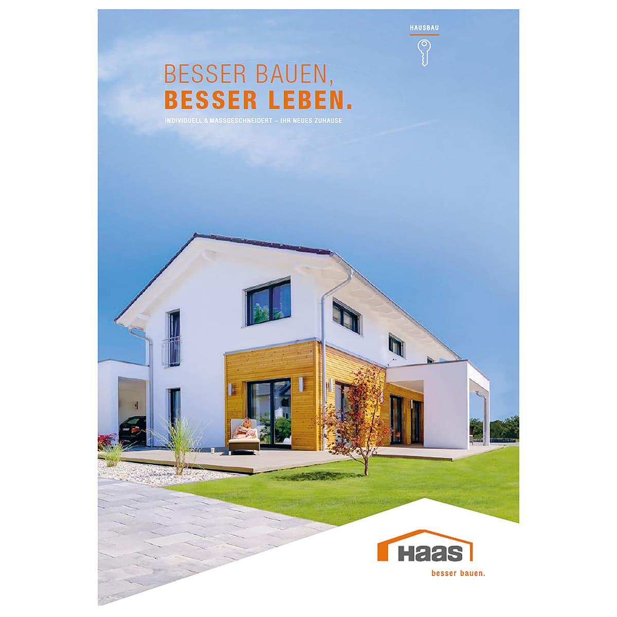 Haas Haus-Hauskatalog unverbindlich bestellen.