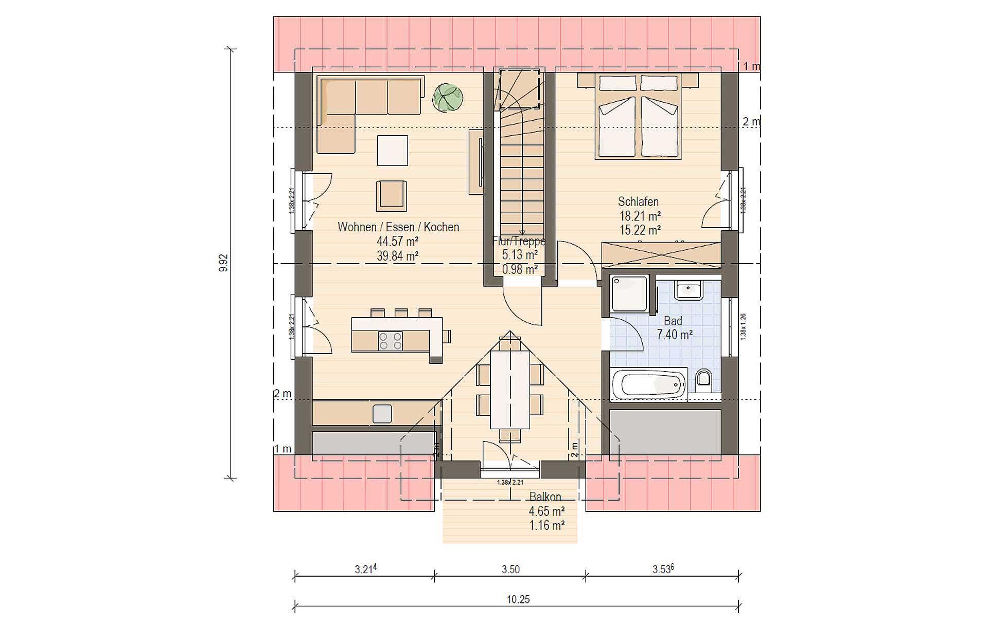 Dachgeschoss Haas Z 159 B von Haas Fertigbau GmbH