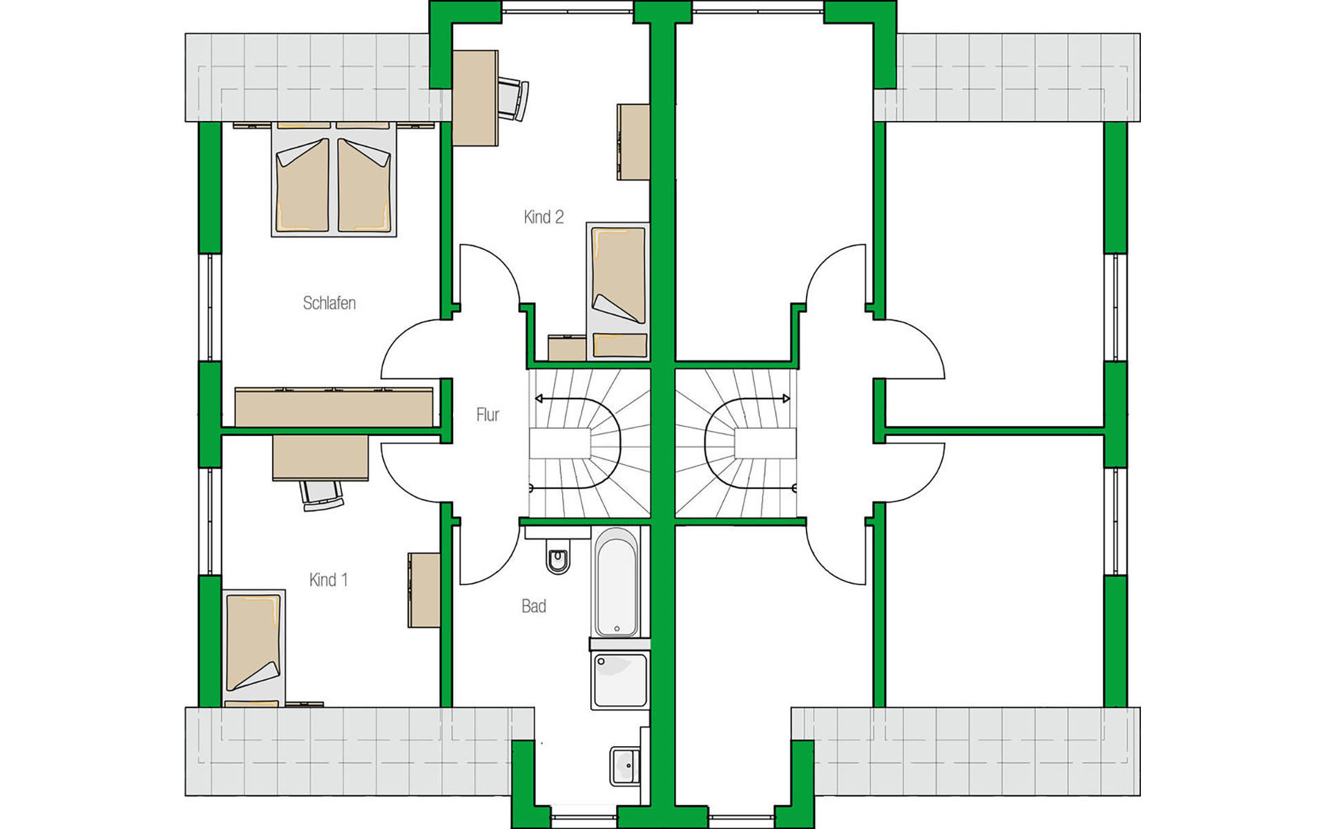 Dachgeschoss Oxford von HELMA Eigenheimbau AG