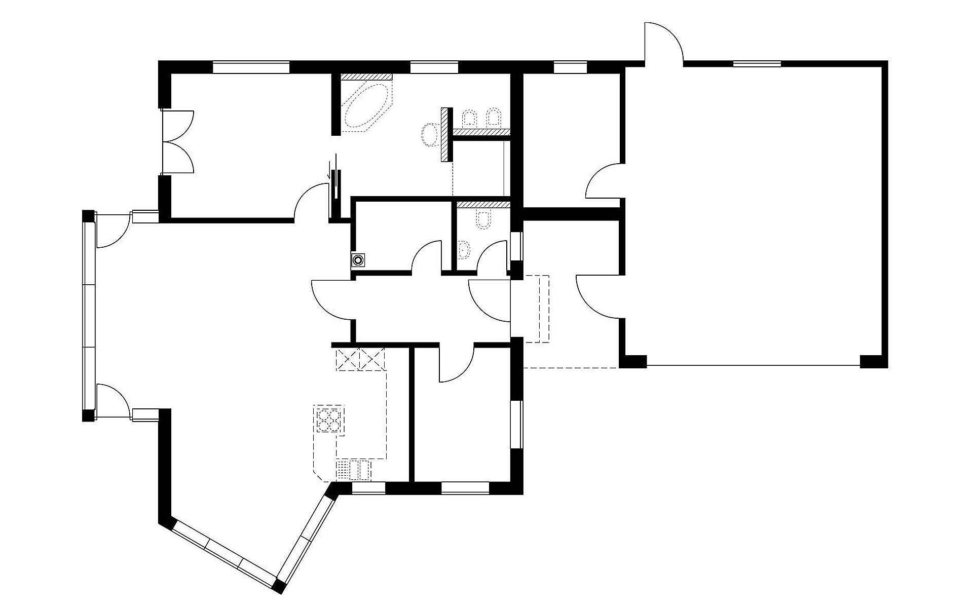 Erdgeschoss Homestory 511 von Lehner-Haus GmbH