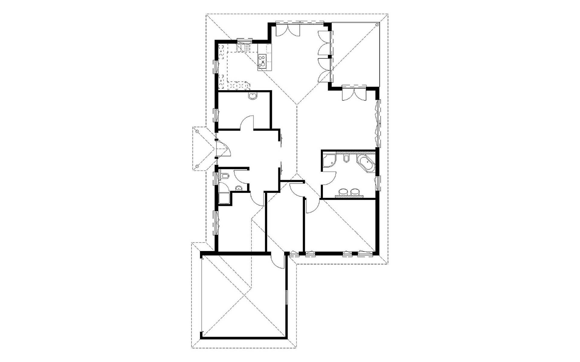 Erdgeschoss Homestory 706 von Lehner-Haus GmbH