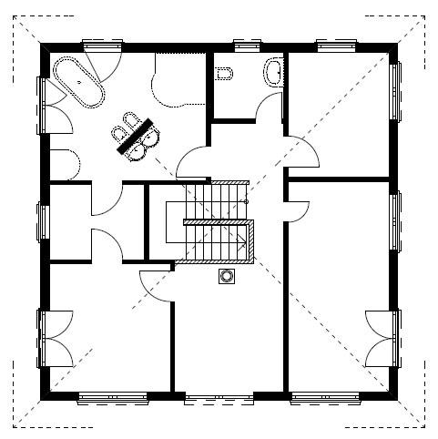 Dachgeschoss Homestory 731 von Lehner-Haus GmbH