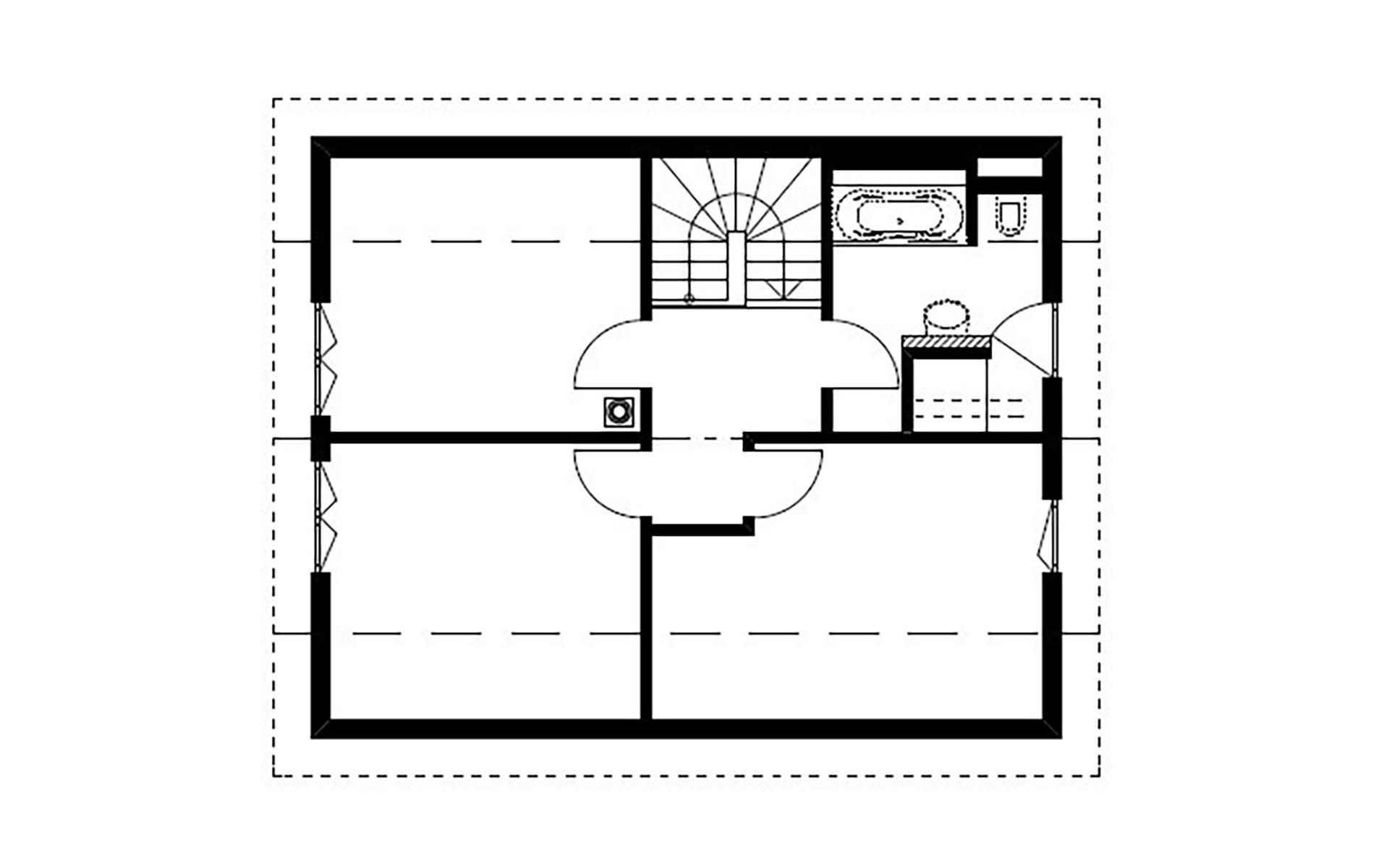 Dachgeschoss Homestory 785 von Lehner-Haus GmbH