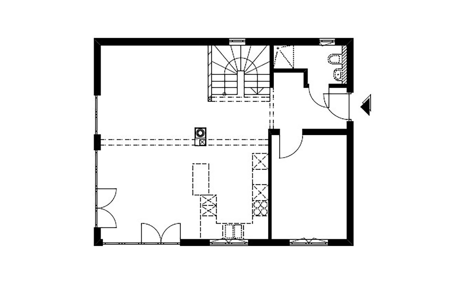 Erdgeschoss Homestory 785 von Lehner-Haus GmbH