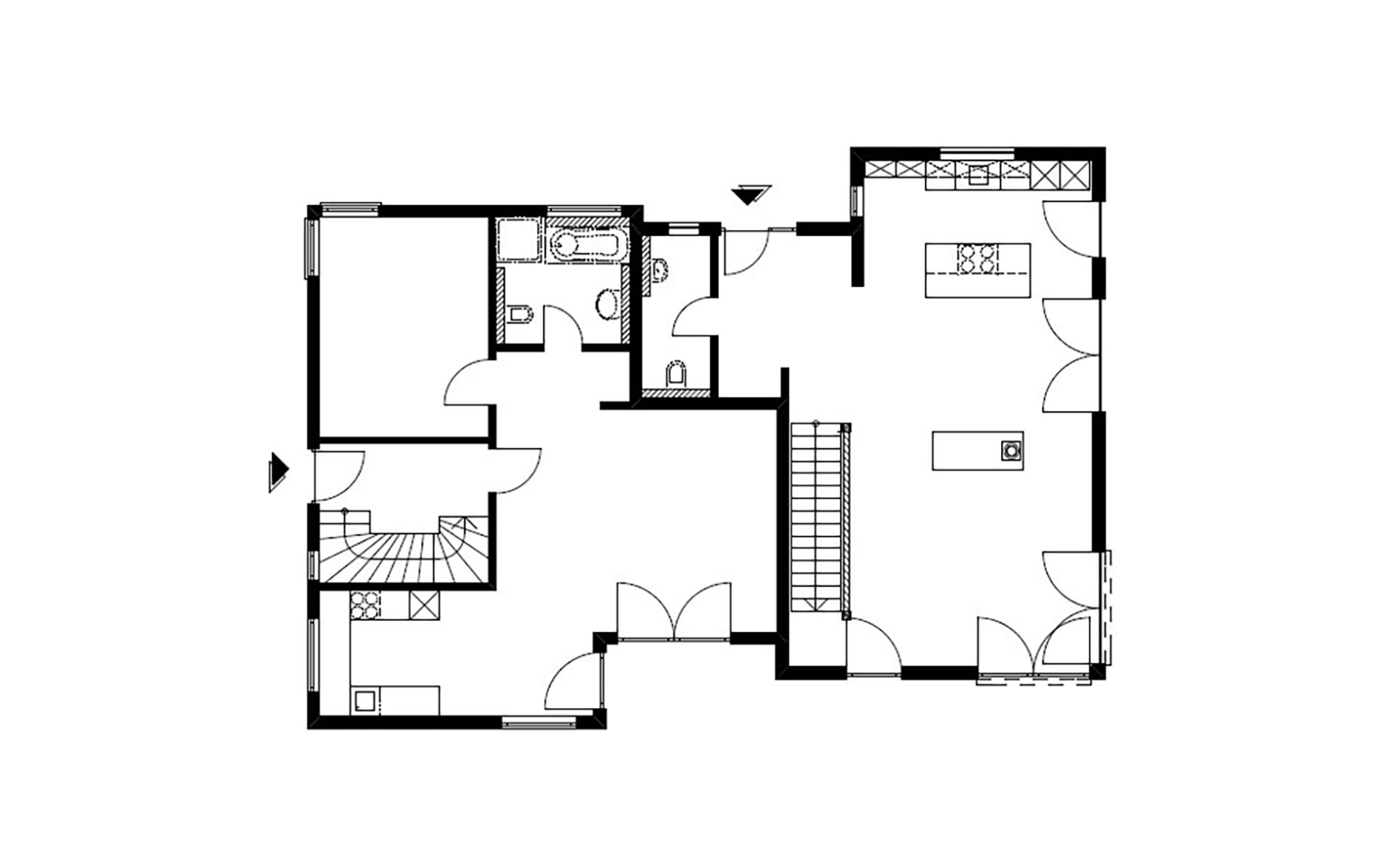 Erdgeschoss Homestory 799 von Lehner-Haus GmbH