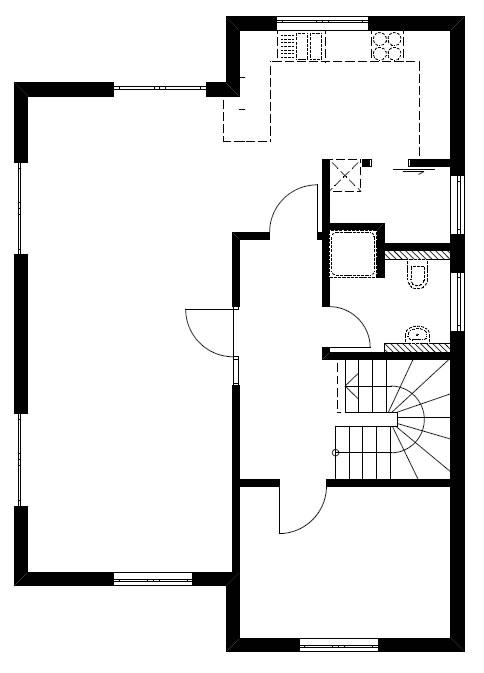 Erdgeschoss Homestory 876 von Lehner-Haus GmbH