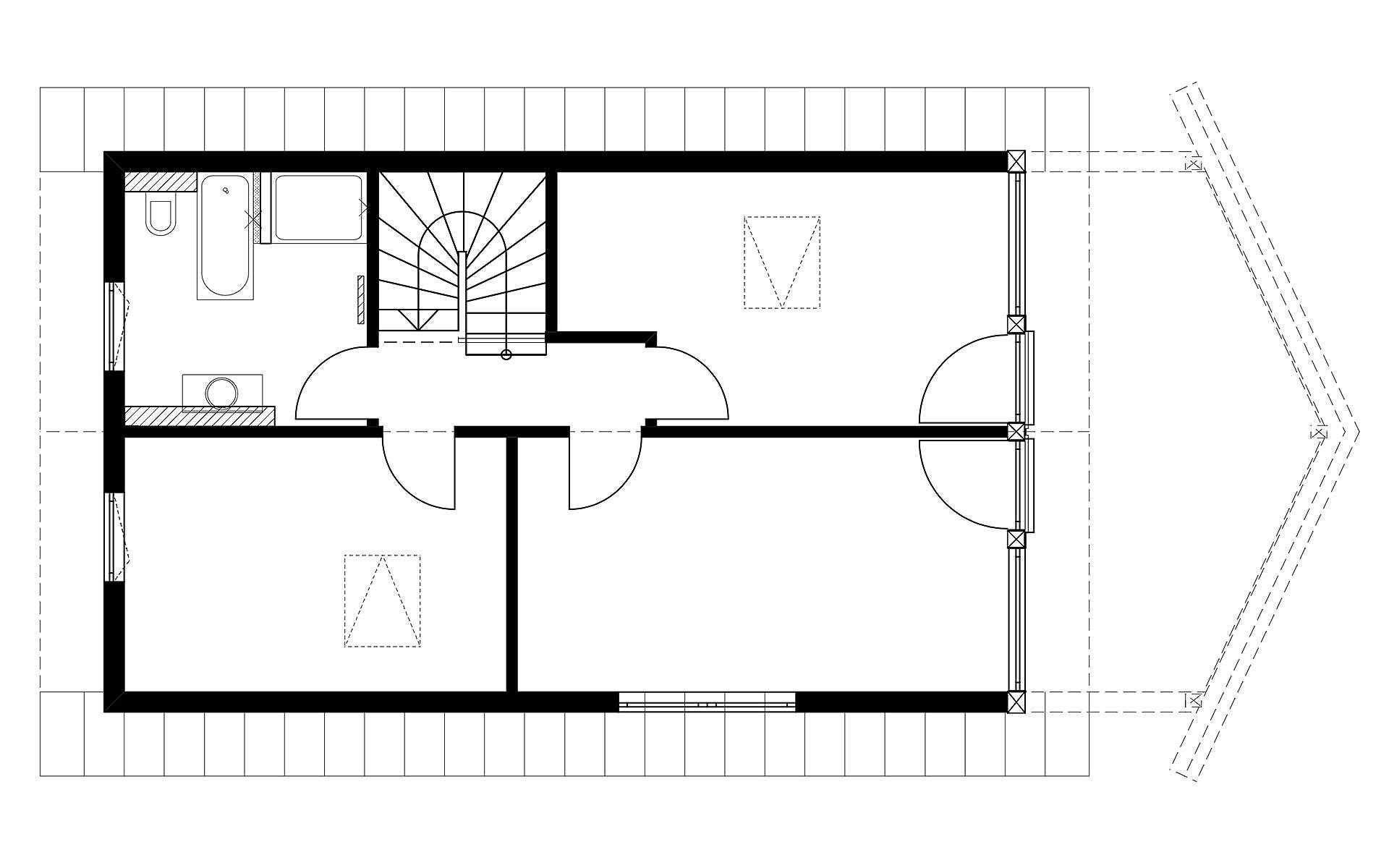 Dachgeschoss Homestory 901 von Lehner-Haus GmbH