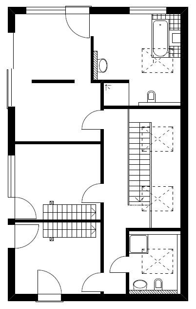 Dachgeschoss Homestory 913 von Lehner-Haus GmbH