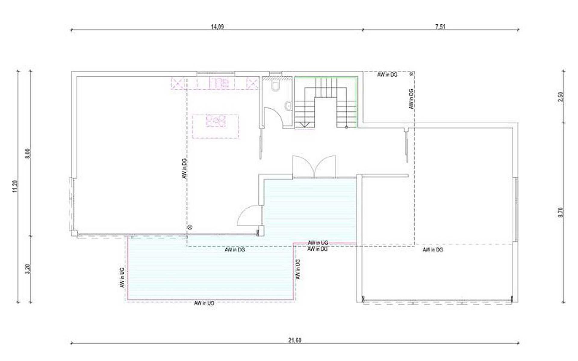 Erdgeschoss Homestory 836 von Lehner-Haus GmbH