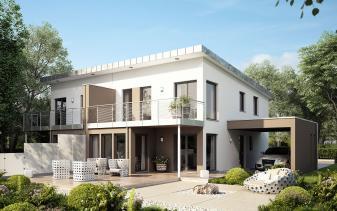 Living Haus - Musterhaus SOLUTION 126 L V4