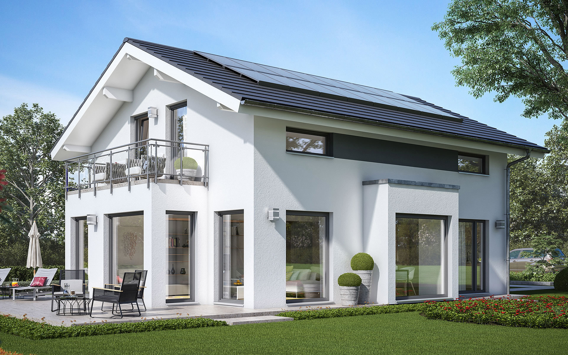 SUNSHINE 143 V4 von Living Fertighaus GmbH