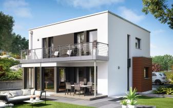 Living Haus - Musterhaus SUNSHINE 151 V8
