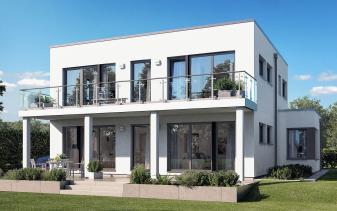 Living Haus - Musterhaus SUNSHINE 165 V7