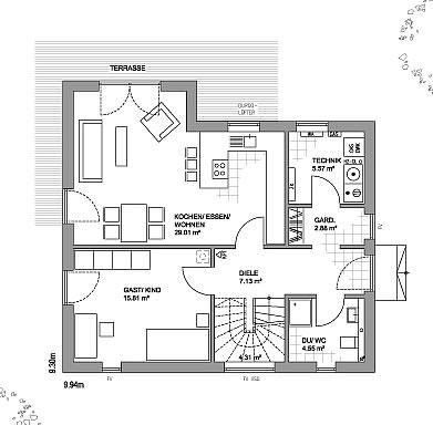 walmdach als holztafelbau von luxhaus gmbh co kg ab euro. Black Bedroom Furniture Sets. Home Design Ideas