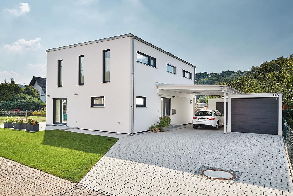 Pultdach Klassik 138 von LUXHAUS Vertrieb GmbH & Co. KG