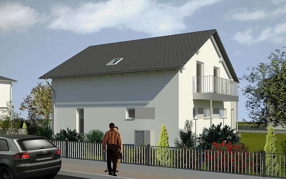 Satteldach Landhaus von LUXHAUS Vertrieb GmbH & Co. KG