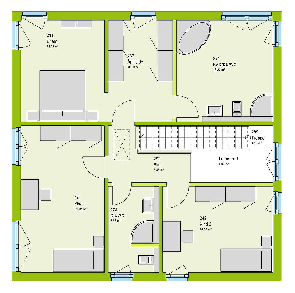 city 4 von massa haus gmbh. Black Bedroom Furniture Sets. Home Design Ideas