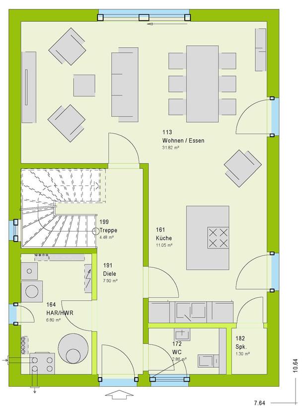 ausbauhaus kaufen h user mit eigenleistung selbst ausbauen hausbau. Black Bedroom Furniture Sets. Home Design Ideas