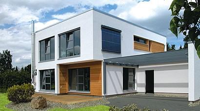 Modernes Meisterstück-Energiesparhaus - Foto: Meisterstück-HAUS