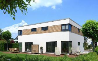 Meisterstück - Musterhaus KUBUS Dopppelhaus