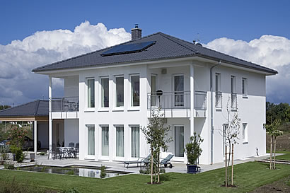 Fertighaus stadthaus  Mein Haus hilft dem Klima - fertighaus.com - ein Service von bauen.com
