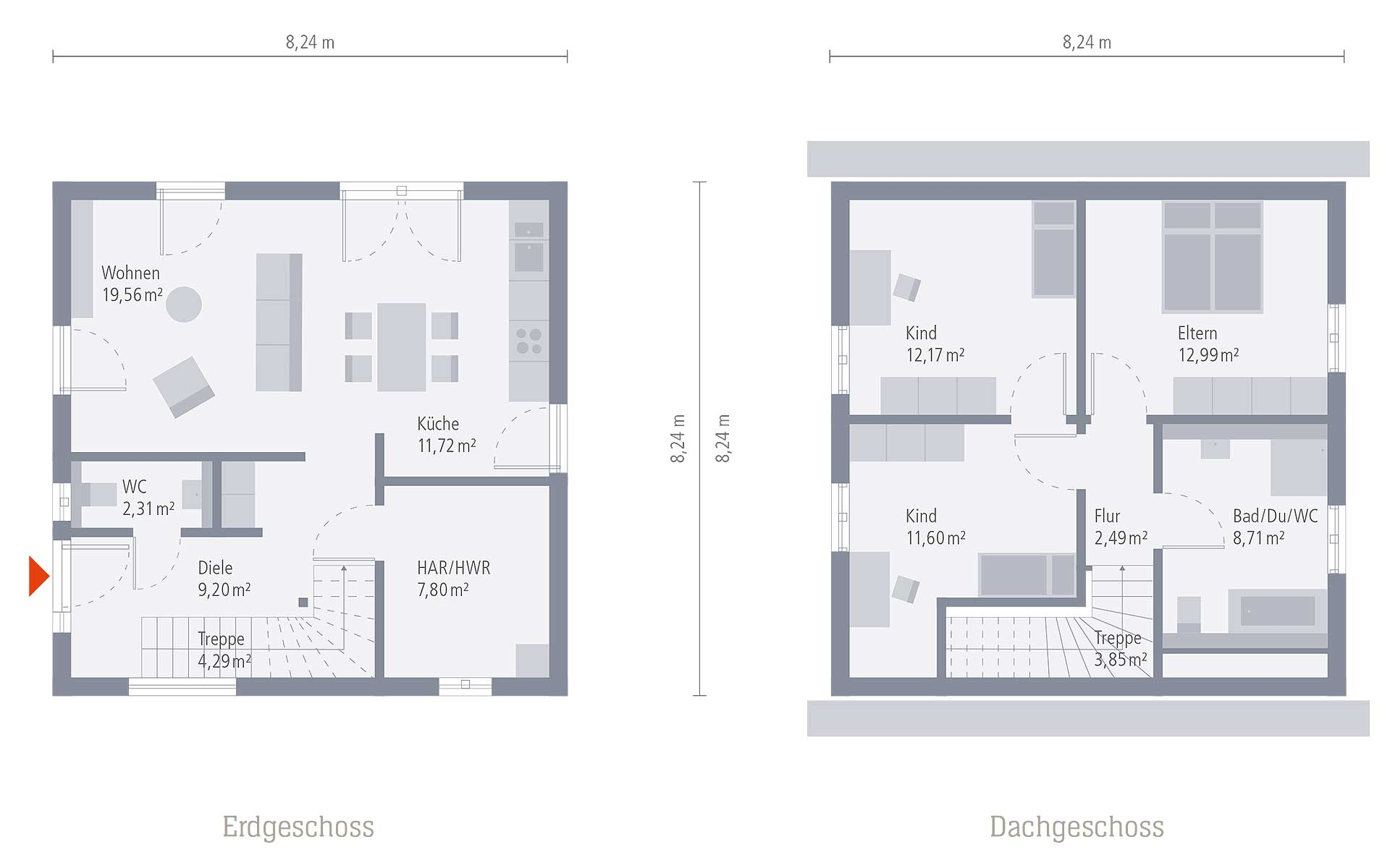 Keller Design 08 von OKAL Haus GmbH