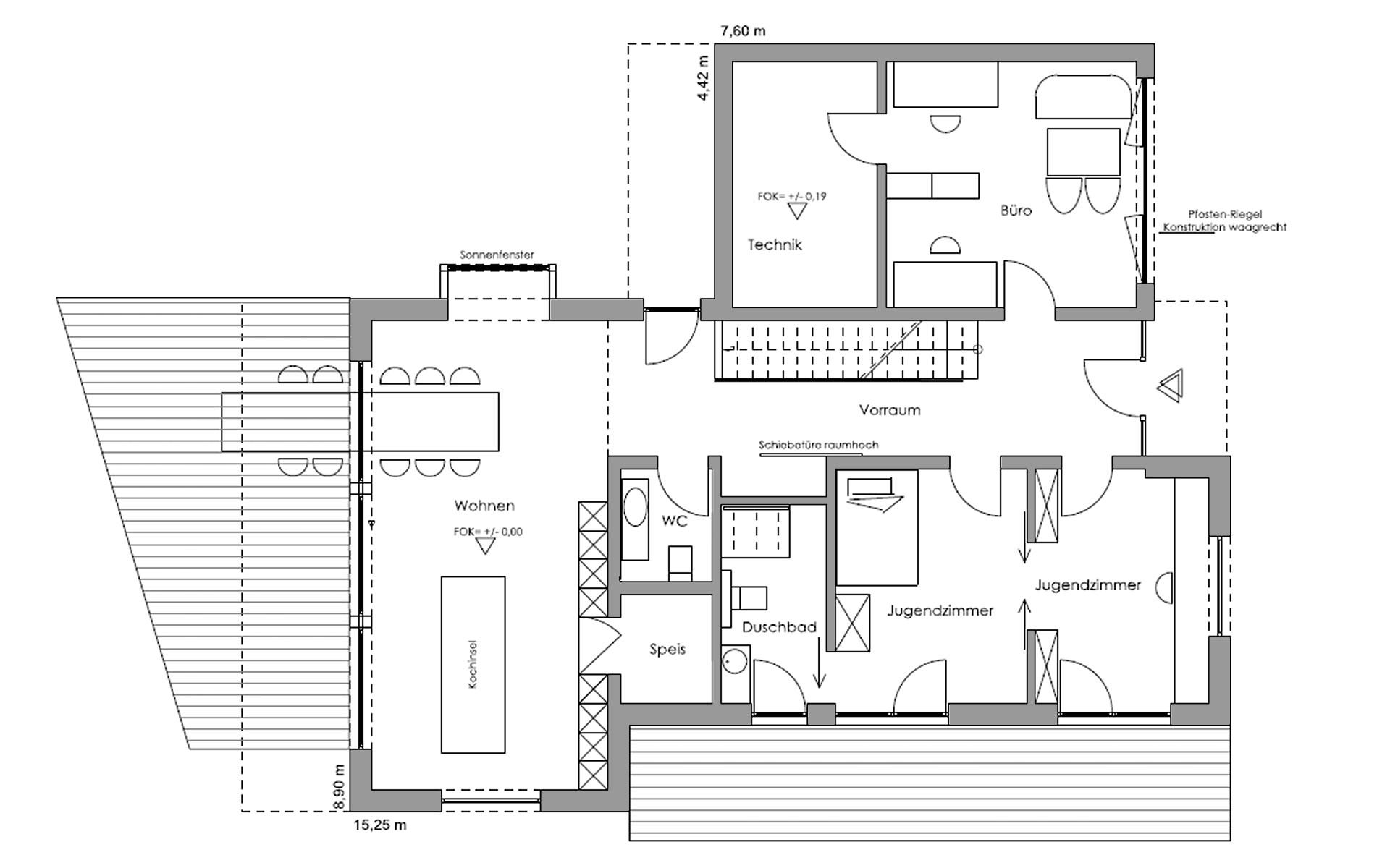 Erdgeschoss Ambienti+ von Regnauer Hausbau GmbH & Co. KG