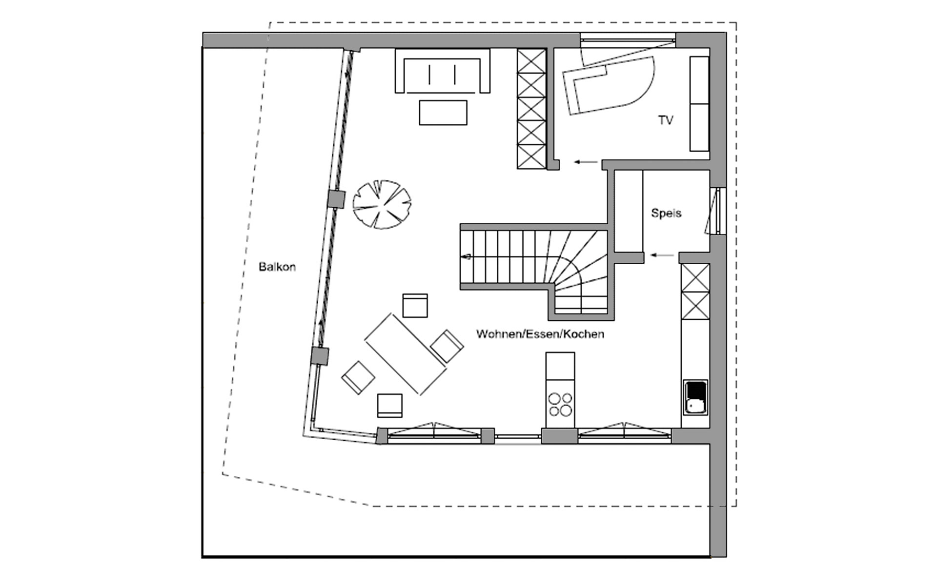 Obergeschoss Herrsching von Regnauer Hausbau GmbH & Co. KG