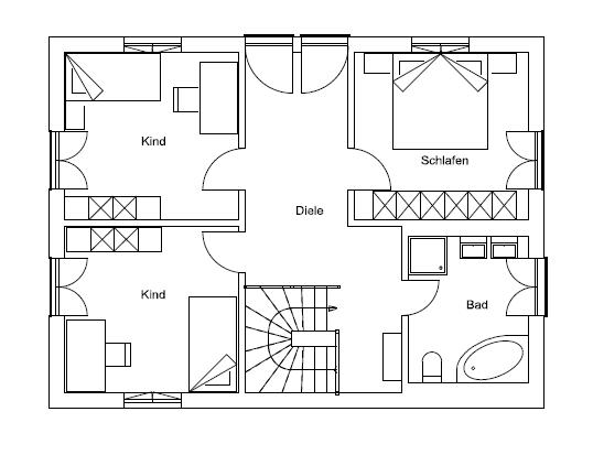 Dachgeschoss Jettenbach von Regnauer Hausbau GmbH & Co. KG